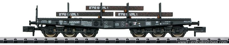 Trix 15453 DB Heavy-Duty Flat Car, (Re-issue with new ro