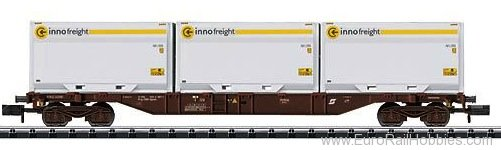 Trix 15520 OBB Container Flat Car