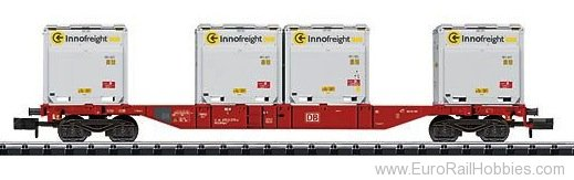 Trix 15531 DB AG Container Flat Car