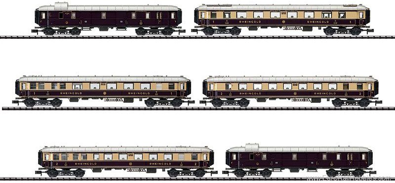 Minitrix 15539 DRG 'Rheingold' Express Train Passenger Car S