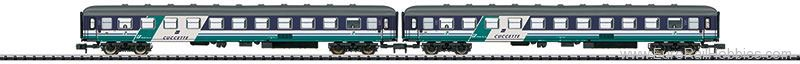Minitrix 15541 FS type UIC-X Slumber Car Set