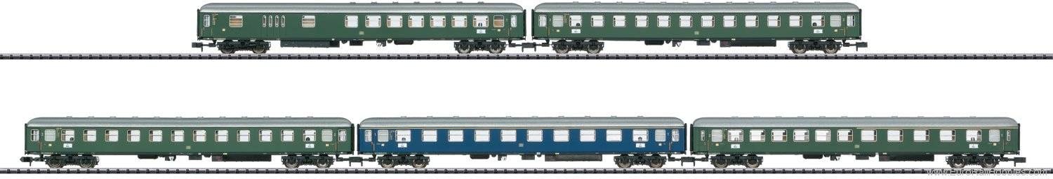 Trix 15548 DB Express Train Passenger Car Set