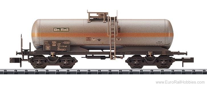 Minitrix 15581 DB AG Chlorine Gas Tank Car (Weathered)