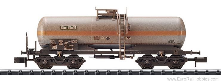 Minitrix 15582 DB AG Chlorine Gas Tank Car (Weathered)