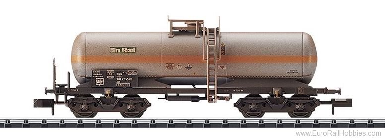 Minitrix 15583 DB AG Chlorine Gas Tank Car (Weathered)