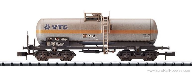 Minitrix 15587 DB AG Chlorine Gas Tank Car (Weathered)