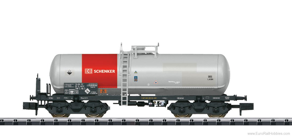 Minitrix 15659 DB Schenker Rail Acid Tank Car