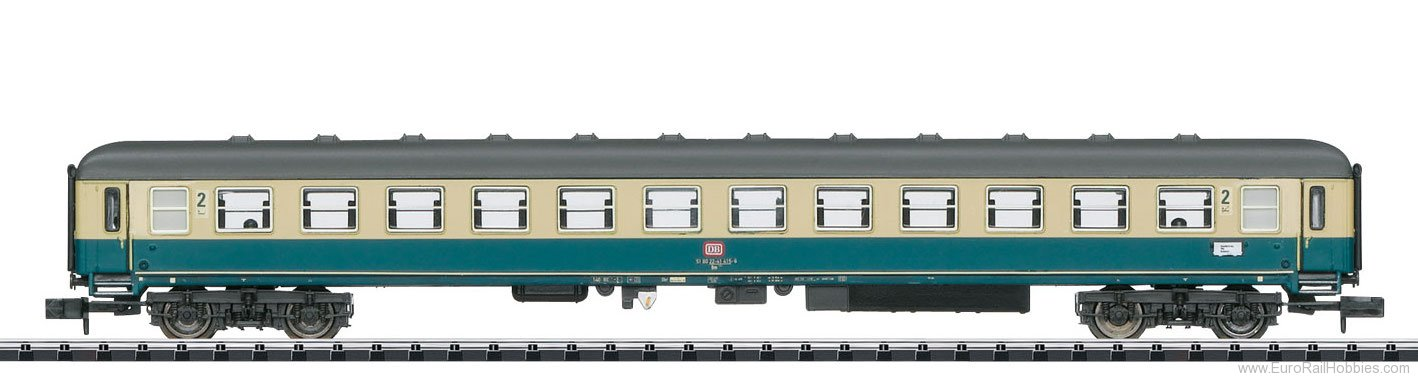 Minitrix 15743 DB Passenger Car for the 'Mosel Valley Railro