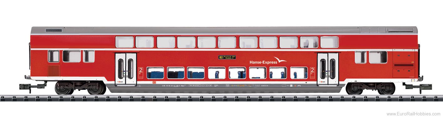 Minitrix 15775 DB AG type DBpza 780.1 'Hanseatic Express' Bi