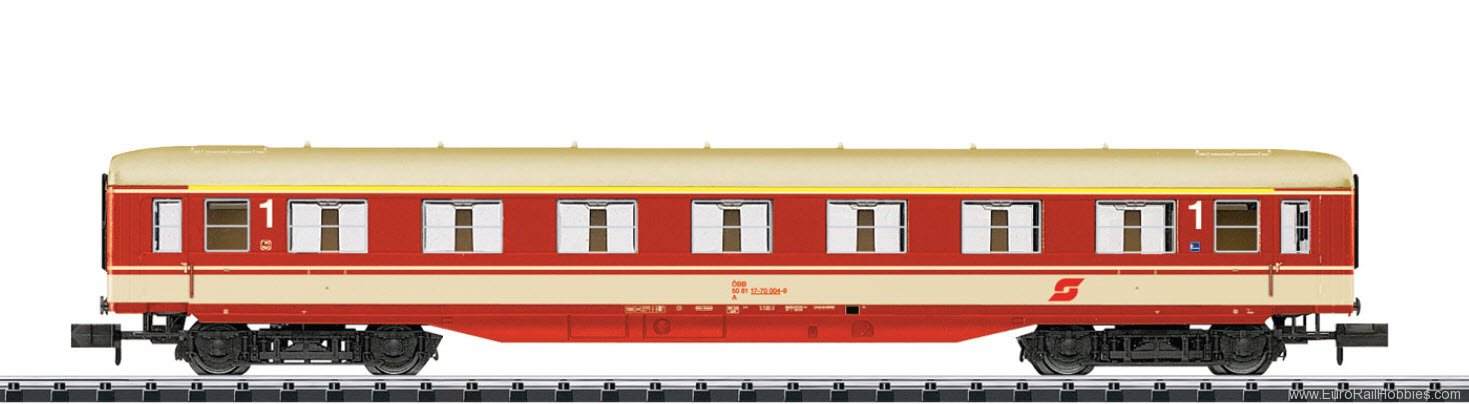 Minitrix 15777 OBB Express Train Passenger Car, 1st class