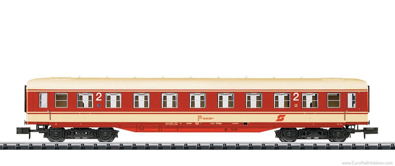 Minitrix 15779 OBB Express Train Passenger Car, 2nd class