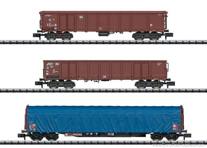 Minitrix 15869 DB 'Modern German Federal Railroad' Freight C