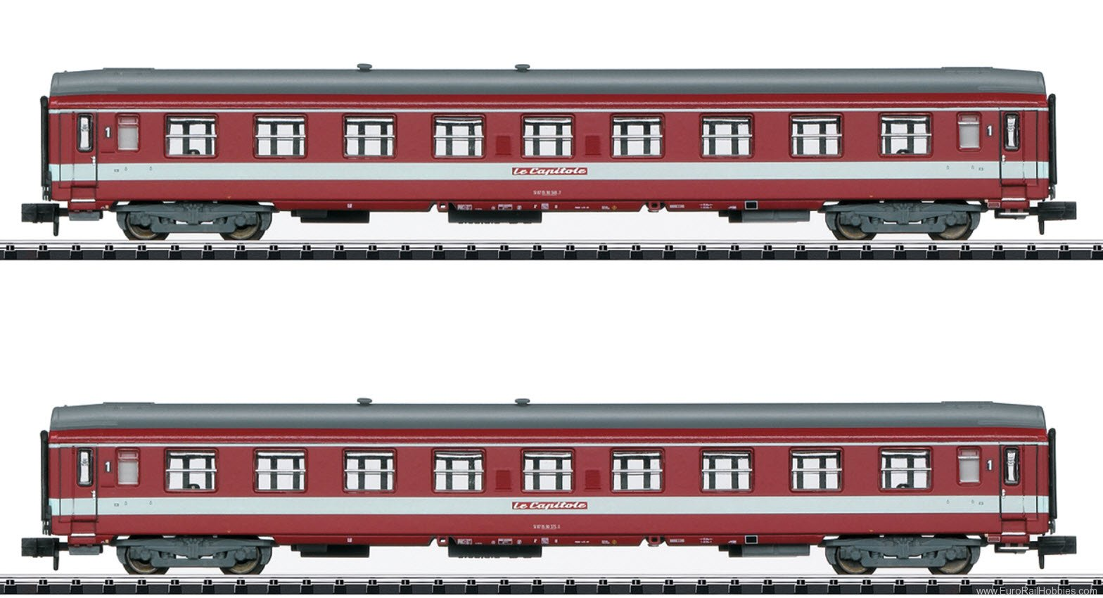 Minitrix 15951 SNCF 'Le Capitole' Add-On Car Set
