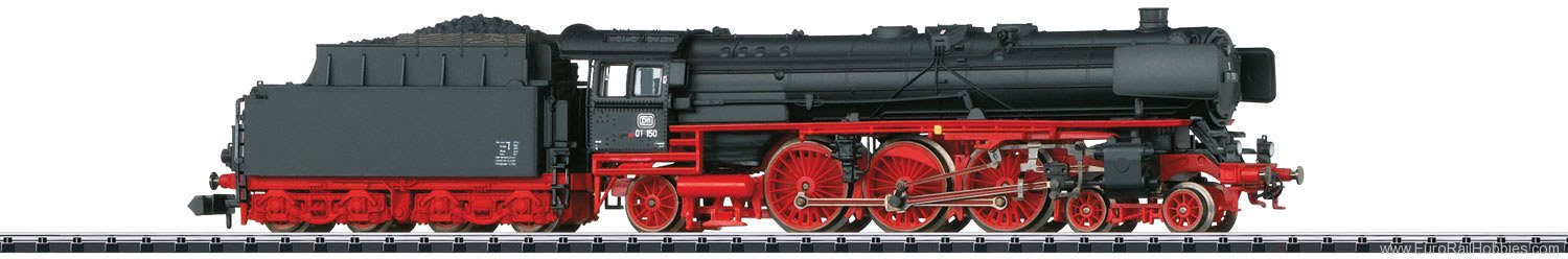 Trix 16013 DB Steam Locomotive with a Tender, Road Numbe