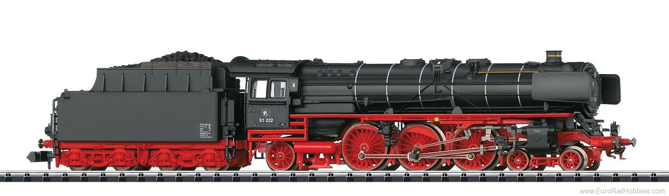 Minitrix 16014 Private Swiss Assoc. Steam Locomotive w/Tende