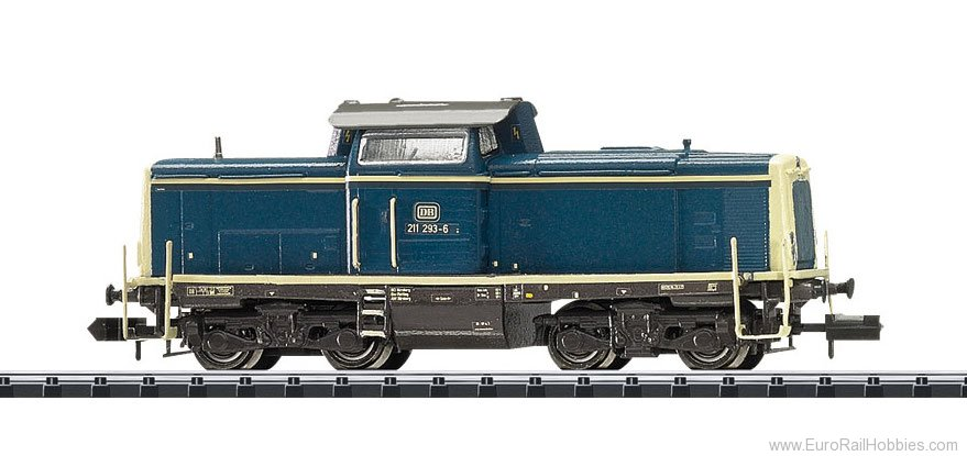Trix 16123 DB cl 211 Diesel Locomotive,  w/DCC SOUND