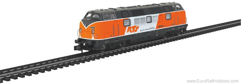 Trix 16202 RTS Cl. 221 Diesel Locomotive DCC (New Toolin