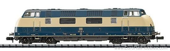 Minitrix 16222 DB Class 220 Diesel Locomotive (Exclusiv 1/20