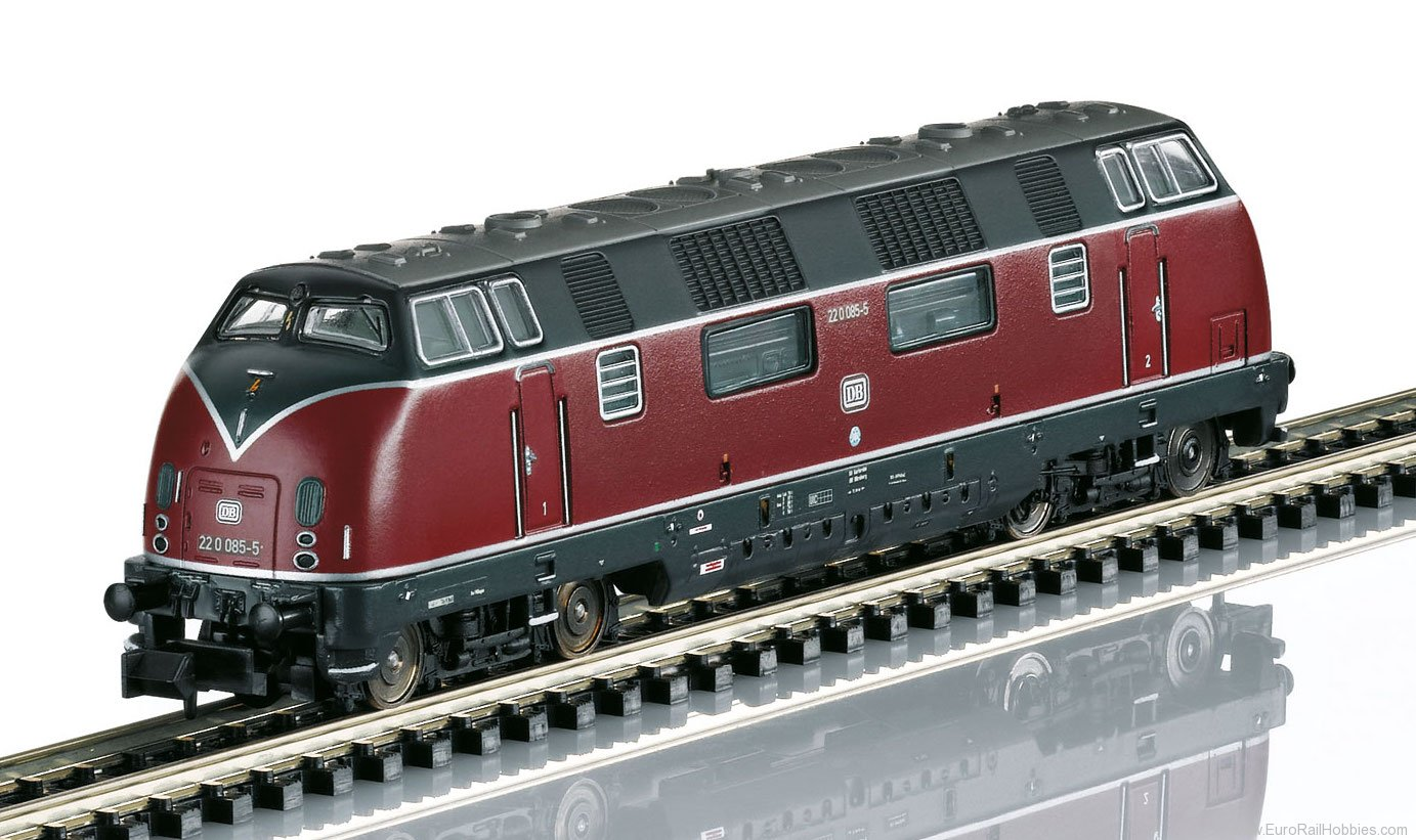Trix 16223 DB cl 200 Diesel Locomotive w/DCC Sound Decod