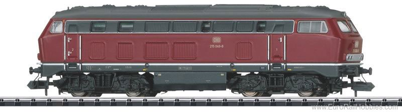 Minitrix 16251 DB Cl. 215 049-8 Diesel Locomotive DCC w/Soun
