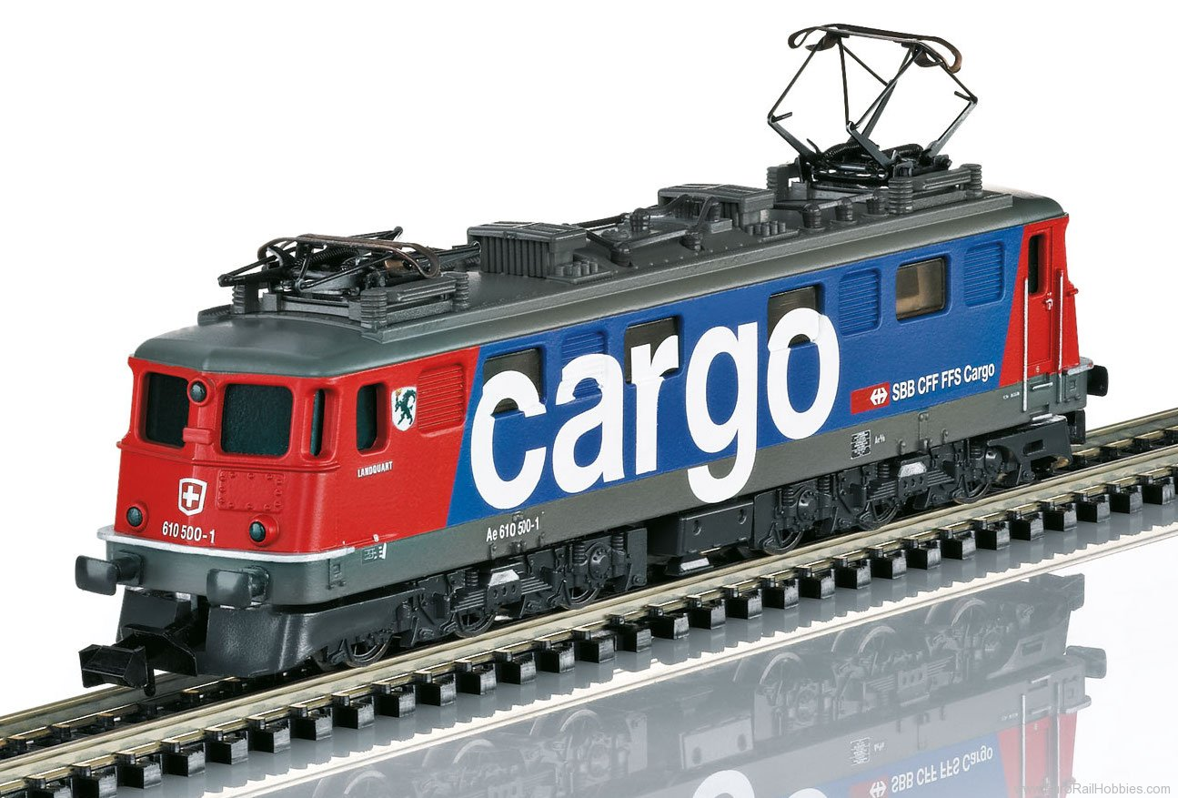 Minitrix 16261 SBB Cargo cl Ae 610 Electric Hobby Locomotive
