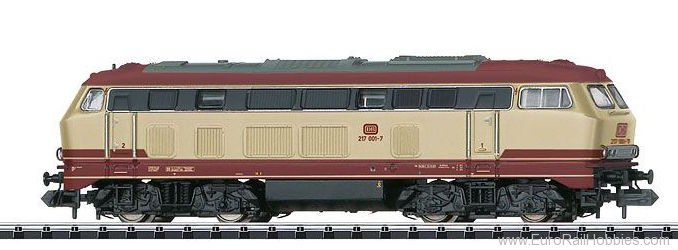 Minitrix 16273 DB AG Diesel Locomotive Road Number 217 001-7