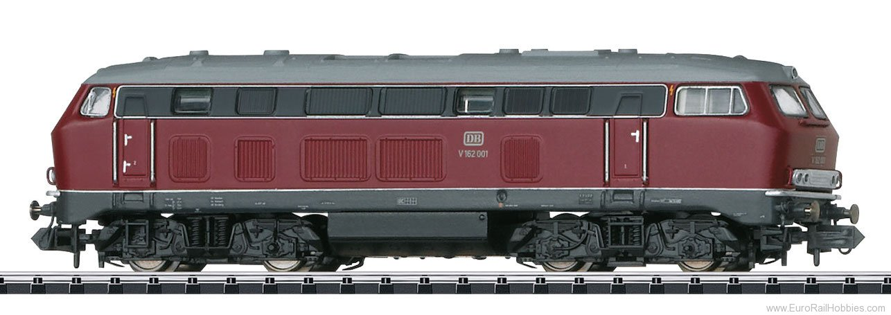 Minitrix 16274 Diesel Locomotive Road Number V 162 001 DCC w