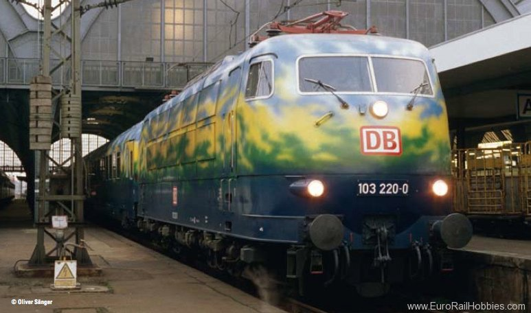 Trix 16343 DB AG Class 103.1 Electric Locomotive in 'Tou