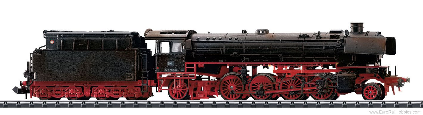 Trix 16412 DB Weathered CL 42 Steam Freight Loco w/Tende