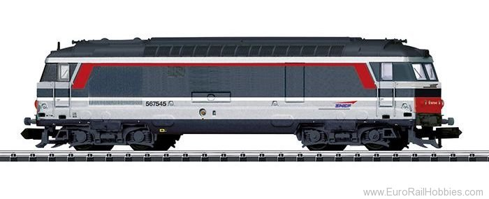 Minitrix 16704 SNCF Class BB 67400 Diesel Locomotive
