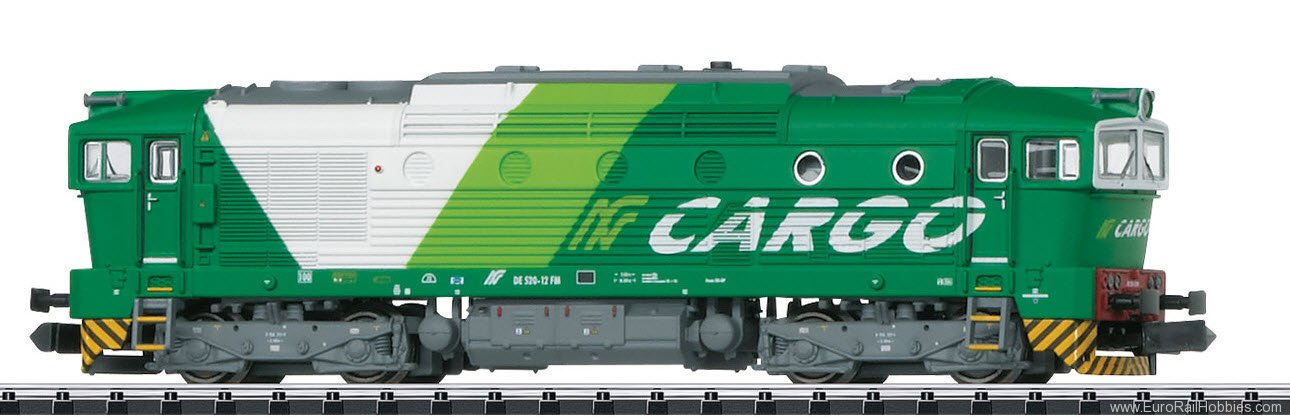Minitrix 16734 FNM Cl. DE 520 Diesel Locomotive DCC w/Sound