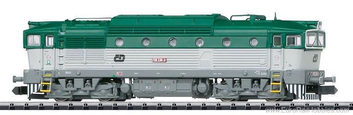 Minitrix 16735 CD Class 750 Diesel Locomotive DCC w/Sound