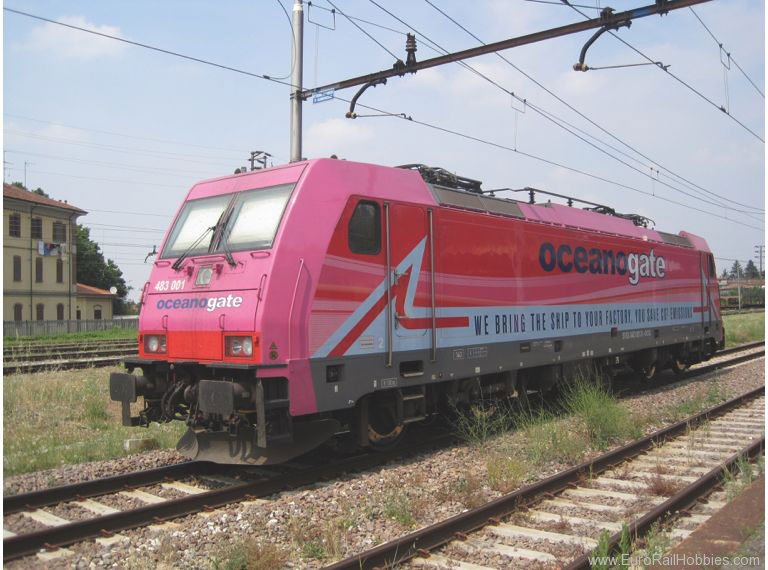 Minitrix 16872 Italien OCEANOGATE Cl. 483 Electric Locomotiv