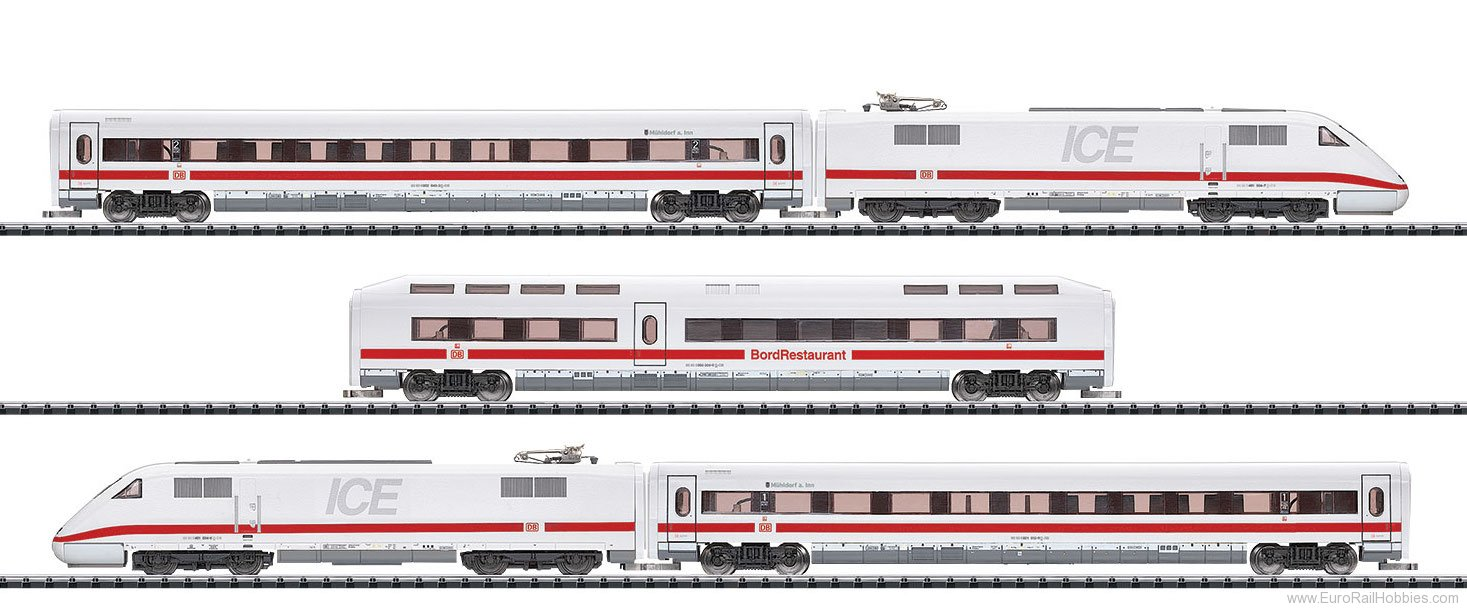 Minitrix 16941 DB AG cl 401 ICE 1 InterCity Express Train w/