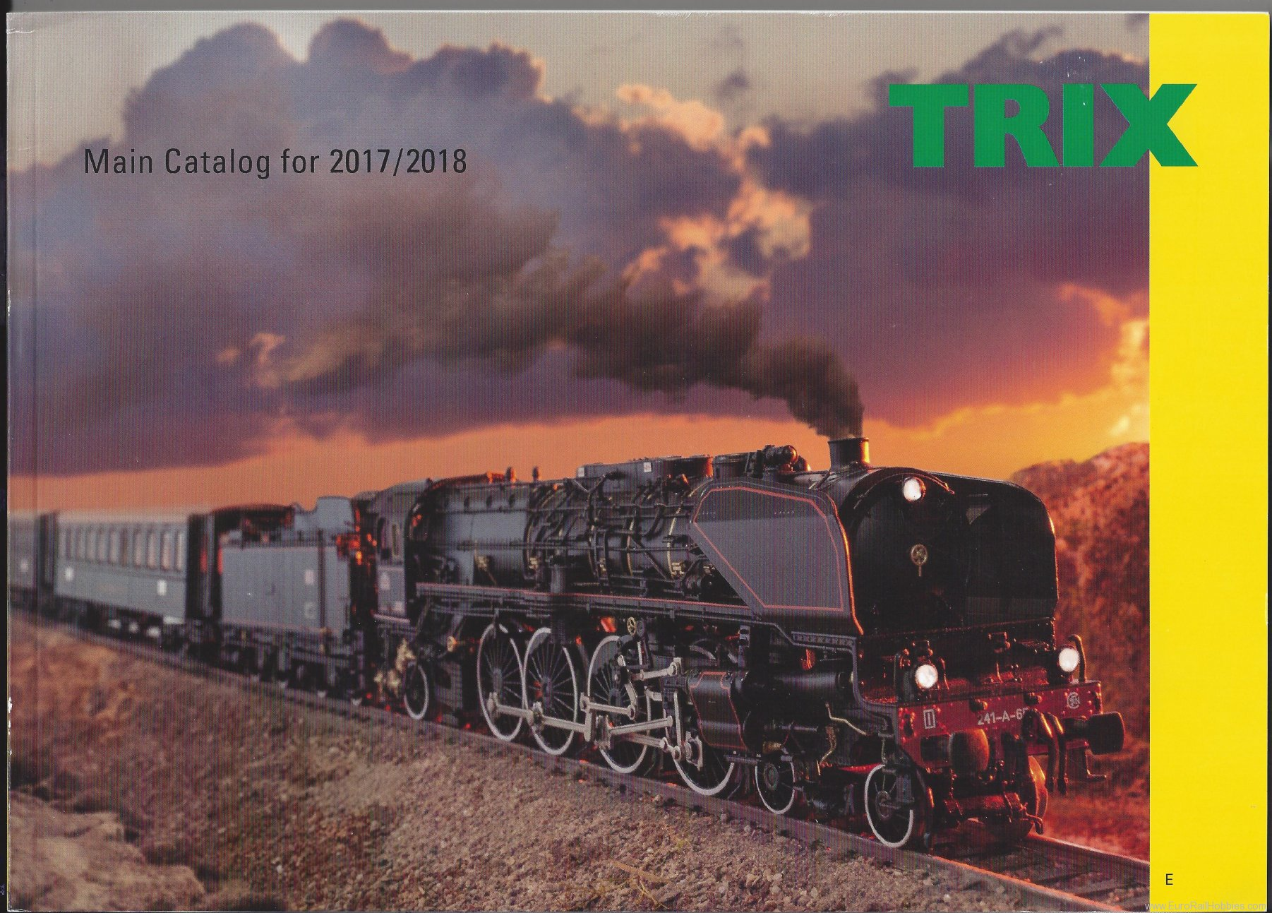 Trix 19821 Trix Main Catalog 2017/18 - ENGLISH Edition