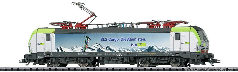 Trix 22095 BLS Cargo cl 475 Electric Locomotive, DCC/MFX