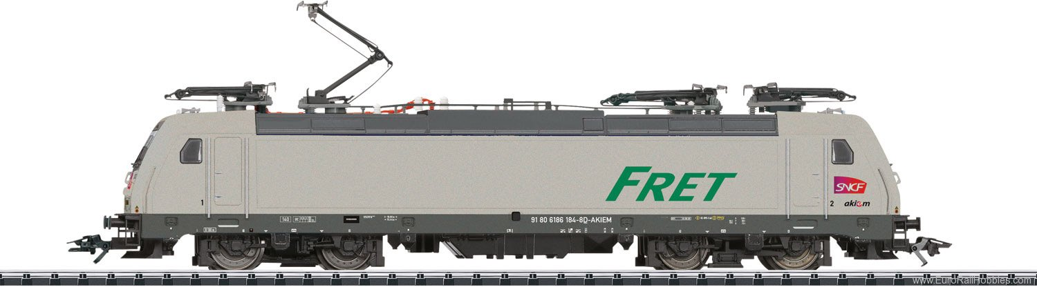 Trix 22165 Class E 186 Electric Locomotive