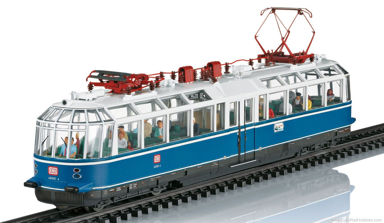Trix 22193 DB cl 491 'Glass Train' Powered Observation R