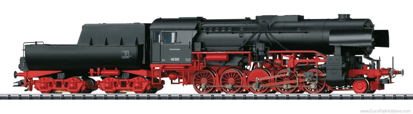 Trix 22226 DR/GDR cl 42 Heavy Steam Freight Loco w/Tub-S