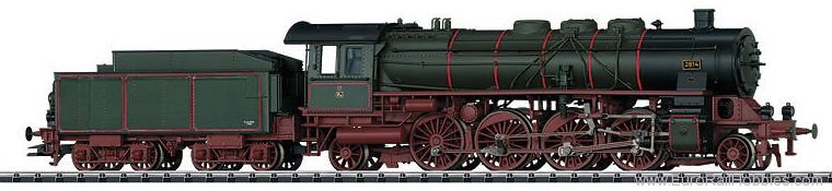 Trix 22239 DRG P10 Steam Passenger Locomotive with a Ten