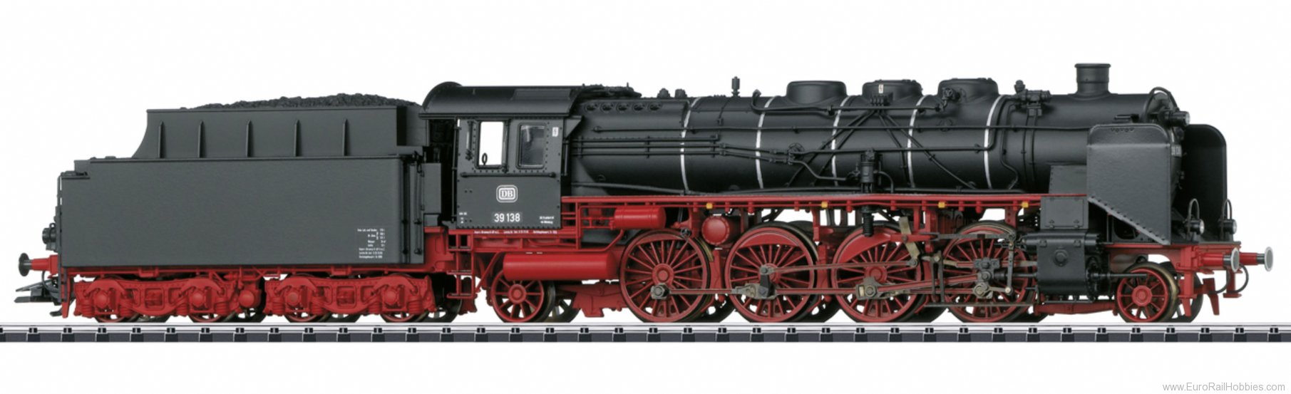 Trix 22240 DB cl 39 Passenger Steam Locomotive, DCC/MFX