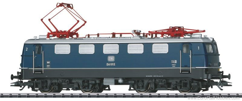 Trix 22268 DB Cl. E 41 Electric Locomotive, Blue Livery