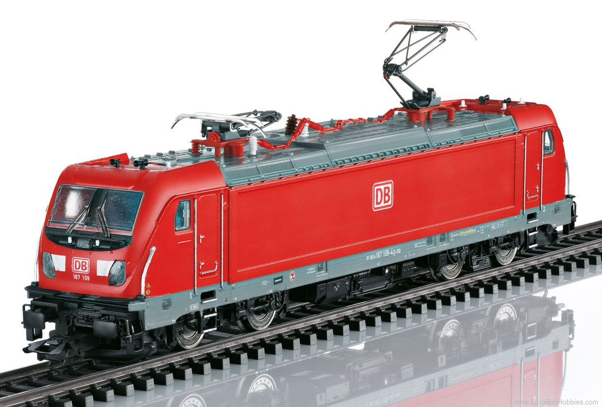 Trix 22278 DB AG cl 187 Electric Locomotive, w/MFX/DCC S