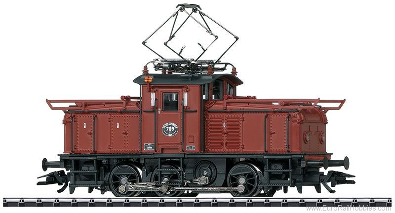 Trix 22350 SJ cl Ub Electric Switch Engine, DCC