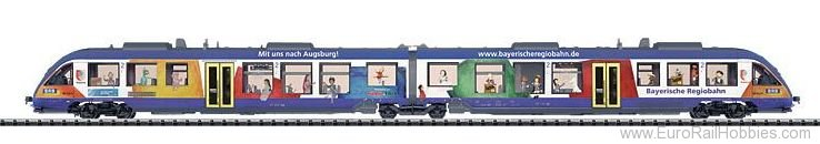 Trix 22377 BRB LINT Diesel Powered Commuter Rail Car Tra