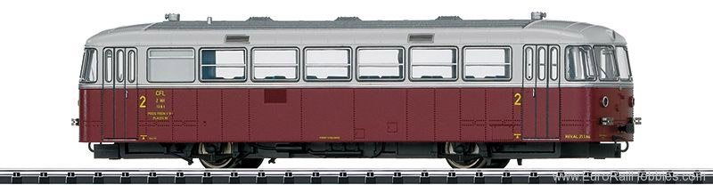 Trix 22395 CFL cl Z 161 Powered Rail Car, DCC/MFX w/Soun