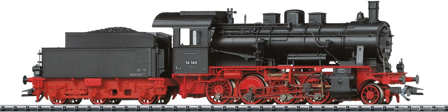 Trix 22562 DRG Class 56.2-8 Freight Steam Locomotive DCC