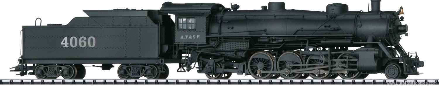 "Trix 22591 ""Mikado"" Steam Locomotive with a Te"