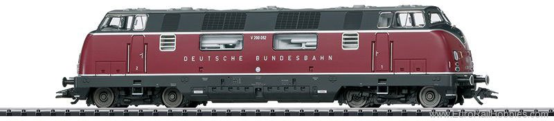 Trix 22754 DB cl V 200.0 Diesel Locomotive, DCC/MFX w/So