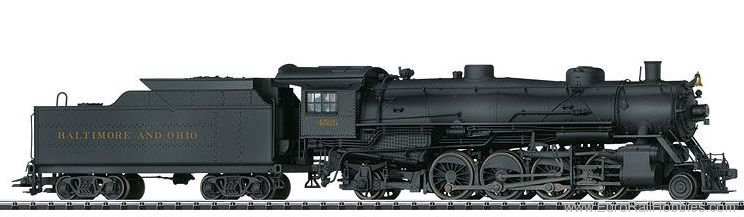 Trix 22816 (B&O) Light Mikado Steam Locomotive with a Te